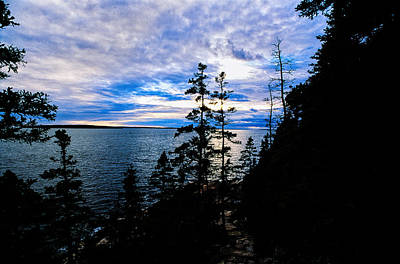 Photograph - Sunset On Bass Harbor by Jeremy Herman