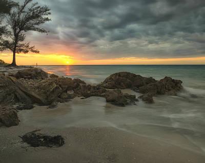 Photograph - Sunset On Bean Point by Darylann Leonard Photography