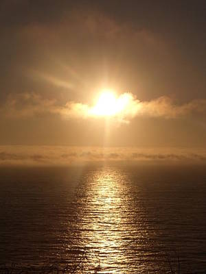 Us1 Photograph - Sunset On Big Sur by Jessica Fialkovich