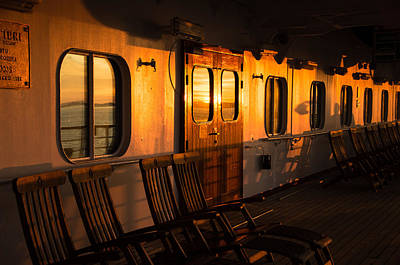 Photograph - Sunset At Sea by Marilyn Wilson
