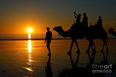 Photograph - Sunset On Cable Beach 1 by Stuart Row