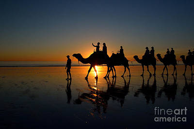 Photograph - Sunset On Cable Beach 2 by Stuart Row