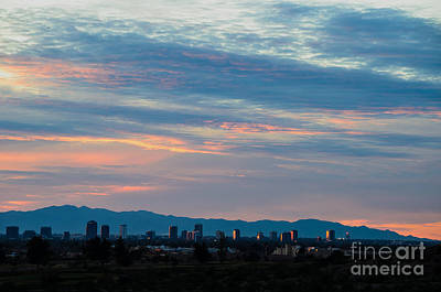 Photograph - Sunset On Central by Tamara Becker