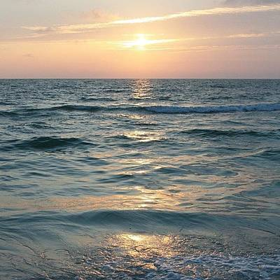 Food And Beverage Photograph - Sunset On #clearwater #beach #florida by Georgia Fowler