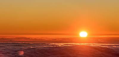 Photograph - Sunset On Cloud City 2 by Jason Chu
