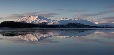 Rannoch Moor Digital Art - Sunset On Crianlarich by Pat Speirs