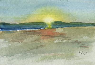 Sunset On Hilton Head Island Art Print