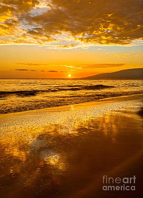 Sunset On Lahaina Art Print