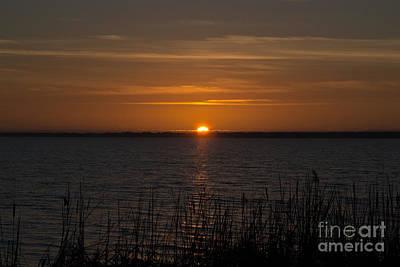 Photograph - Sunset On Lake Mattamuskeet by Scott Hervieux