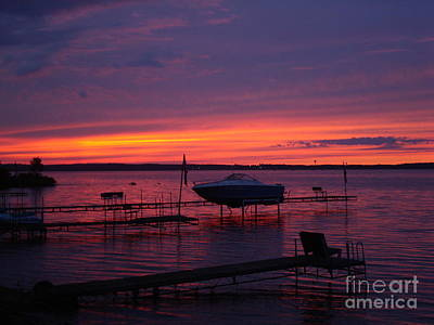 Photograph - Sunset On Lake Mille Lacs by Susan Woodward