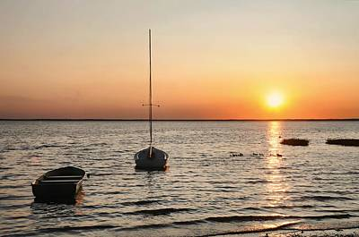 Photograph - Sunset On Lbi by Diana Angstadt