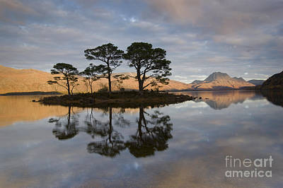 Photograph - Sunset On Loch Maree And Slioch by Howard Kennedy