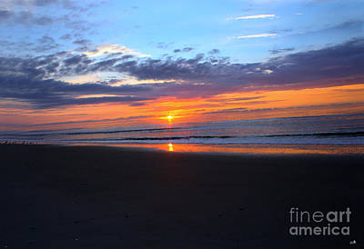 Photograph - Sunset On Ocean Isle by Sandra Clark