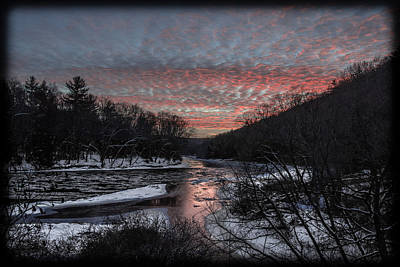 Photograph - Sunset On River Road by Anthony Thomas