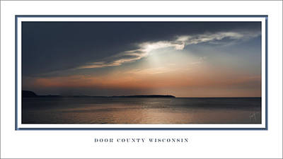 Photograph - Sunset On Sturgeon Bay by Barbara Smith