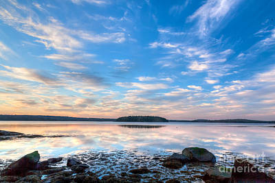 Photograph - Sunset On Taunton Bay  by Susan Cole Kelly