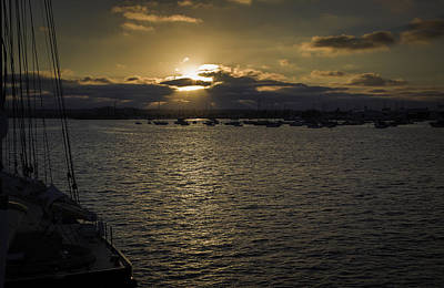 Photograph - Sunset On The Bay by Dave Hall