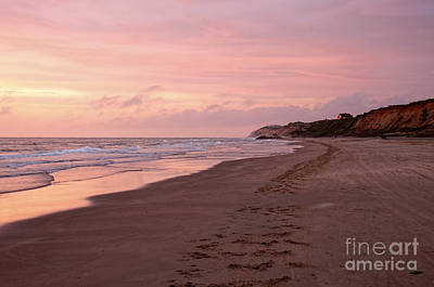 Water Photograph - Sunset On The Beach by Gry Thunes