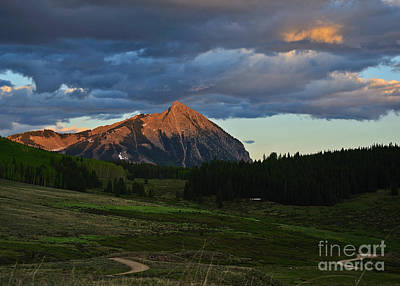 Photograph - Sunset On The Butte by Kelly Black