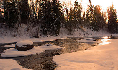 Photograph - Sunset On The Creek by Joanne Smoley