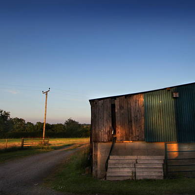 Photograph - Sunset On The Farm by Ed Pettitt