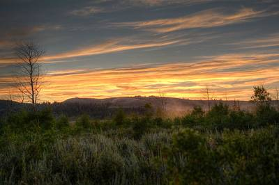 Photograph - Sunset On The Flats by Jenessa Rahn
