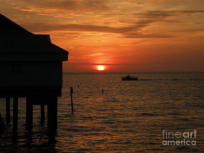 Photograph - Sunset On The Gulf Of Mexico by Lora Duguay