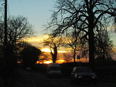Photograph - Sunset On The High Way  by Joyce Woodhouse
