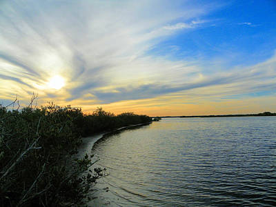 Photograph - Sunset On The Indian River by Suzie Banks