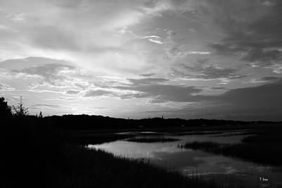 Photograph - Sunset On The Marsh by Thomas Leon