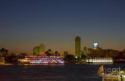 Photograph - Sunset On The Nile by Paul Cowan