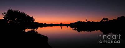 Photograph - Sunset On The Okeechobee Waterway by Lora Duguay
