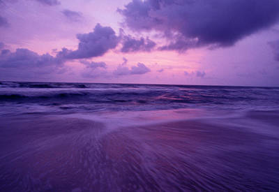 Gabon Photograph - Sunset On The Pacific Coast Of Gabon by Peter McBride