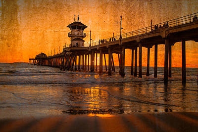 Photograph - Sunset By The Pier by Fernando Margolles