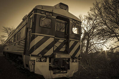 Photograph - Sunset On The Railway by Andrew Pacheco