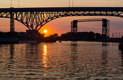 Sunset On The River Art Print by Clint Buhler