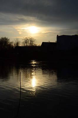 Samantha Morris Photograph - Sunset On The River by Samantha Morris