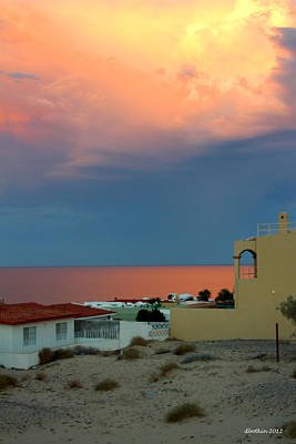 Sunset On The Sea Of Cortez Art Print