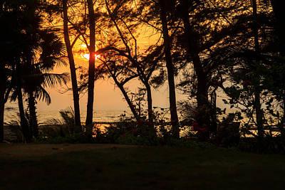 Photograph - Sunset Over Arabian Sea by Kantilal Patel