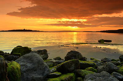 Sunset Over Aran Art Print