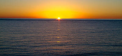Art Print featuring the photograph Sunset Over Baja by Atom Crawford