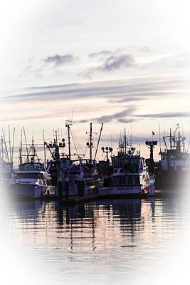 Sunset Over Bellingham Bay Art Print