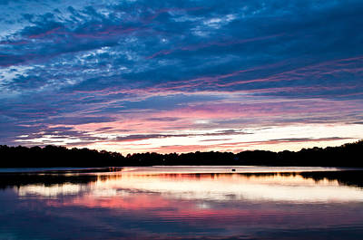 Photograph - Sunset Over Black's Creek by Lee Costa