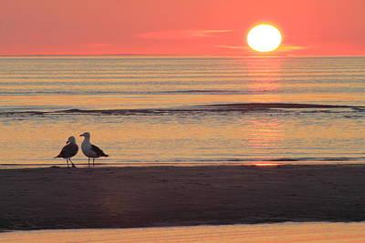 Photograph - Sunset Over Cape Cod Bay by John Burk
