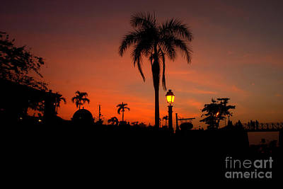 Photograph - Sunset Over Cartagena De Indias Colombia by Colin Munro
