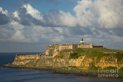 Photograph - Sunset Over El Morro by Brian Jannsen