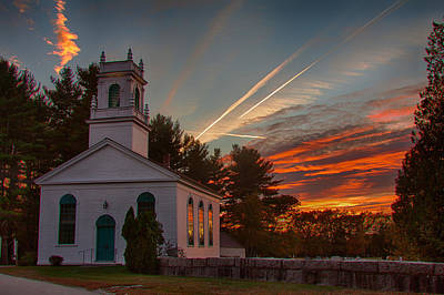 Photograph - Sunset Over God's House by Jeff Folger