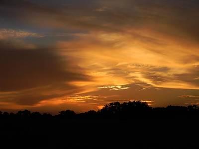 Sunset Over Golden Ocala Original