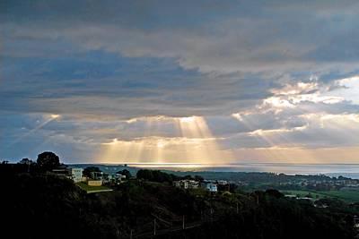 Photograph - Sunset Over Guanajibo 1 by Ricardo J Ruiz de Porras