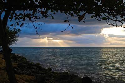 Photograph - Sunset Over Guanajibo 3 by Ricardo J Ruiz de Porras